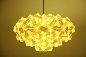 Paper Pendant Shade Paper Pendant Lighting To Unveil Gorgeous Origami Pendant Lamps At