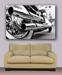 amazon com harley davidson canvas print ready to hang wall art