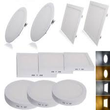 Flat Led Ceiling Lights by Led Flat Panel Light Ebay