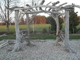 Wedding Arches Made From Trees 26 Best Driftwood Wedding Arbors Images On Pinterest Driftwood