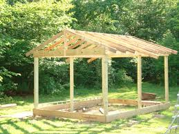How To Build A Pole Barn Cheap How To Build A 12x20 Cabin On A Budget 15 Steps With Pictures