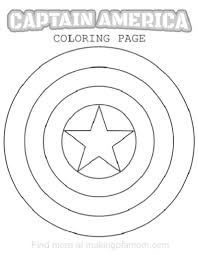 armor shield coloring pages ctr page free printable captain at