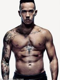 lewis hamilton opens up about his tattoos as he poses for front