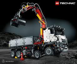 lego bentley lego mercedes benz further partnership with 2 793 piece arocs 3245