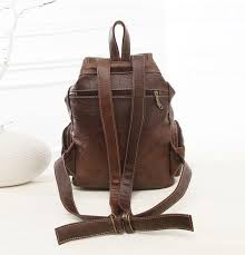 Rugged Leather Backpack Rugged Pu Leather Backpack Coca