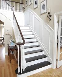 Refinish Banister Upgrade A Builder Basic Staircase Gloria Zastko Realtors North