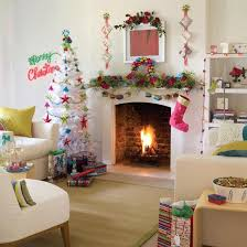 Fireplace Decorating Ideas For Your Home Holiday Decoration Beautiful Living Room White Christmas Tree