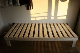 Wooden Platform Bed Frame Plans by Build A Bed Frame H O M E S W E E T H O M E Pinterest Bed