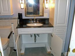 handicap accessible bathroom designs wheelchair accessible bathroom sinks interior desertrockenergy