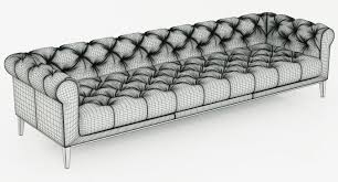 restoration hardware chesterfield sofa restoration hardware italia chesterfield leather sofa 3d model max