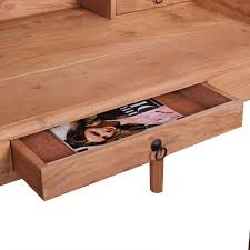 Schreibtisch 100 Cm Schreibtisch Massivholz Leder Günstig Kaufen