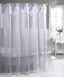 Amazon Com Shower Curtains - sheer fabric shower curtain curtains wall decor