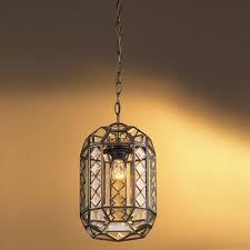 vintage glass pendant light glass crystal pendant l with antique design freshome com