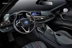 bmw red interior world premiere bmw i8 protonic red edition