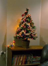 small tree with lights decor