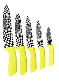 lime green ceramic kitchen knives rocknife ceramic knives