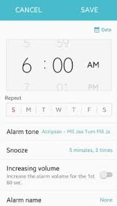 how to set alarm on android how to set alarm clock android phone snooze repeat time