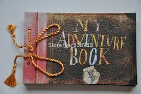Home Decoratives Home Decor Photo Album My Adventure Book Pixar Up Film Adventure