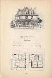 Designer House Plans Old Classic Floor Plans 1890s 2 Story Home Artistic City Houses