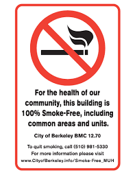 new smoking law affects all berkeley multi unit housing city of