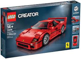 ferrari lego truck lego ferrari f40 even has a toolkit autotrader ca