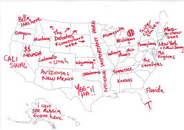 united states map with labels of states and capitals states you tend to forget exist lipstick alley