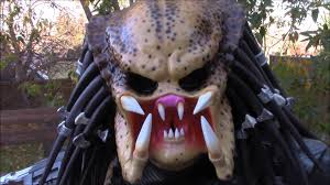 how i painted my predator costume mask 2015 youtube