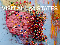 All Fifty States 20 Things To Achieve Before I Die By Joel Mcdonald