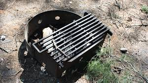 Grill For Fire Pit by Mew Lake Campsite Fire Pits Grills Photo