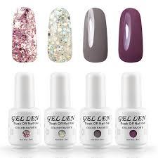 gadget reviews gellen uv gel nail polishes 4 piece kit u0026 new