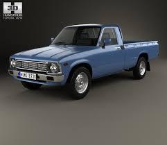 1978 toyota truck toyota hilux regular cab 1978 3d model hum3d