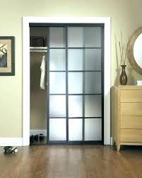 Small Closet Doors Stanley Mirrored Sliding Closet Doors Installation