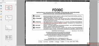 fiat allis dozers fd30c 60401170 00 pci 1 665 parts book auto