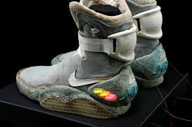 Nike Light Back To The Future U0027 Nike Mag Shoes Can Be Yours Cnet