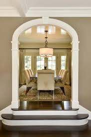 living room porch arch window room color wood wall home