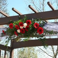 wedding arches ottawa wedding arch with gerbera and tulle w flowers ottawa