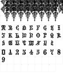 sorcerer ornamental font