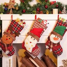 popular santa sock craft buy cheap santa sock craft lots from
