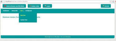cara membuat halaman utama web dengan php tutorial code igniter part 5 membuat halaman dasbor administrator