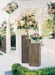 Outdoor Wedding Gazebo Decorating Ideas 43 Delicate Spring Garden Wedding Ideas Weddingomania