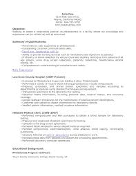 healthcare resume objective entry level phlebotomist resumes entry level healthcare resume previousnext