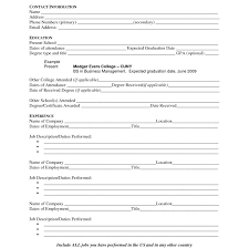 Examples Resumes For Jobs by First Time Resume Templates First Time Job Resume Examples Resume