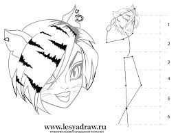 how to draw with toralya from the monster huy on paper a pencil