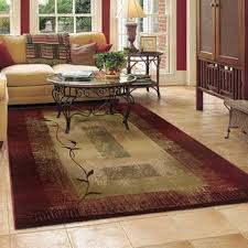 area rug in living room red rugs you ll love wayfair
