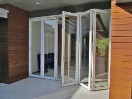 Collapsible Patio Doors by Outdoor Folding Glass Doors Images Glass Door Interior Doors