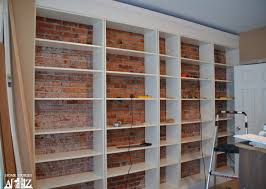 billy bookcase hack ikea hack billy built in bookshelves part 1 home stories a to z