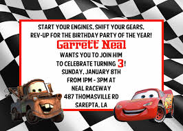 cars birthday invitations template free free invitations ideas