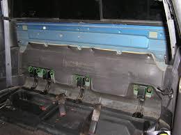 dodge dakota seat foam how to interior iii dakota ext cab rear interior removal