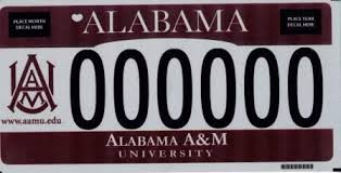 uga alumni car tag collegiate license plates alabama department of revenue