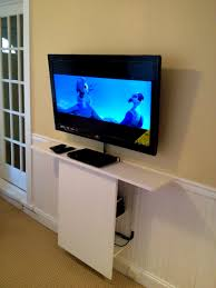 bathroom divine beautiful wall mounted ideas diy television
